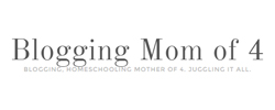 Blogging Mom of 4