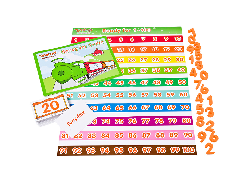teach my preschooler numbers to 100
