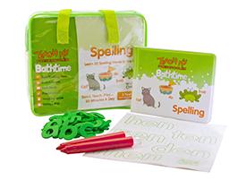 Teach My Preschooler Bathtime Spelling
