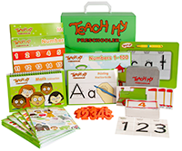 Teach My Preschooler All-In-One Learning Kit