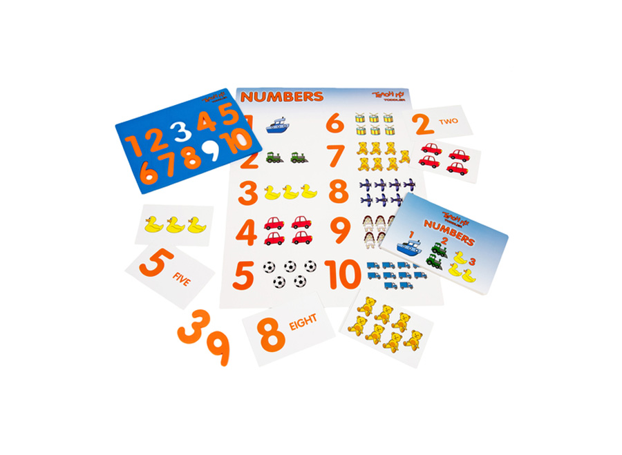 teach my toddler numbers