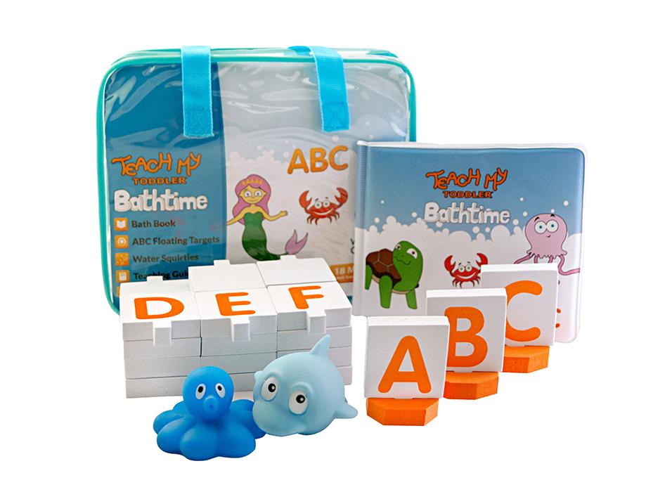 Teach My - Teach My Toddler Bathtime ABC\'s Learning Set